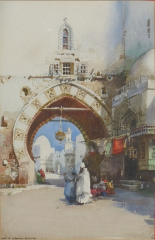 An Eastern Archway, Noel Harry Leaver
