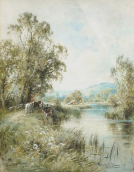 On the Arun, Nr. Amberley, Sussex, Henry John Kinnaird