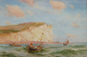 Seaford Head, Sussex, John Fraser