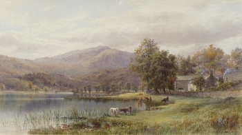 Mountain Landscape, E. A. Warrington