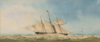 3-Masted Steam Frigate,, Charles Taylor Junior