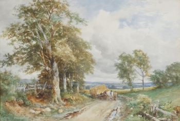 A Worcestershire Lane, David Bates