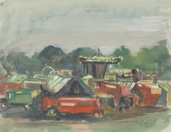Sefton Park Fair, Liverpool, Clifford Fishwick