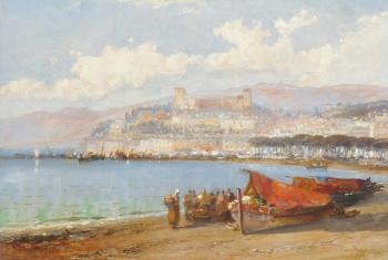 View of Cannes, France, Arthur Joseph Meadows