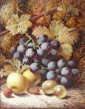 Grapes & Greengages, Oliver Clare