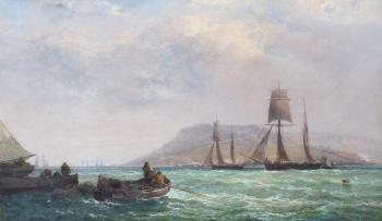 Portland, Breezy Weather, Dorset, Arthur Joseph Meadows