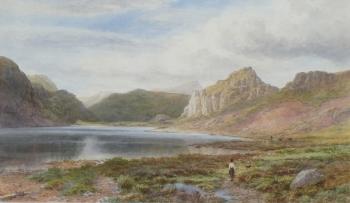 An Upland Lake, Albert Hartland
