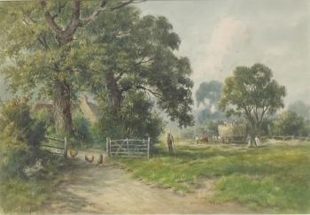 Hay Making, Summer, Harrison Smythe