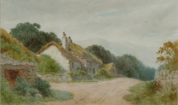 A Cottage in the Hills, Henry Hilton