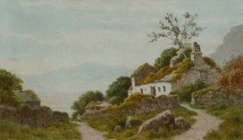 An Old Farmstead, Henry Hilton
