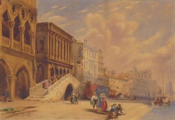 Venice, Italy, M. E. Wilson