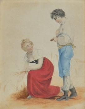 Country dress, European School