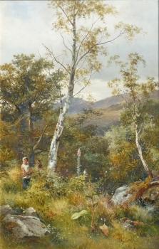 Gathering Firewood, David Bates
