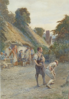 Toil Remitting Lends Itself to Play, Henry Reynolds Steer