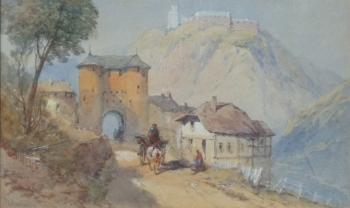 Monte Cassino, Italy, Thomas Charles Leeson Rowbotham