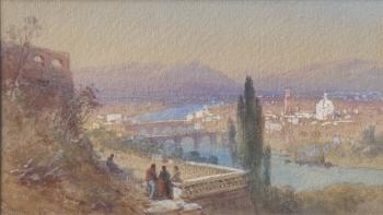 Florence, Italy, Thomas Charles Leeson Rowbotham
