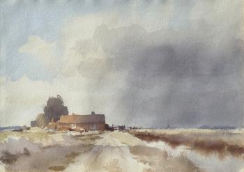 A Norfolk Farm, Edward Brian  Seago