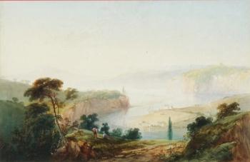 The Avon above Bristol, James George Philp