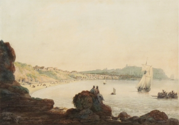 South Bay, Scarborough, Yorkshire, Francis  Nicholson