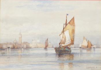 Venice, Italy, Frederick James Aldridge