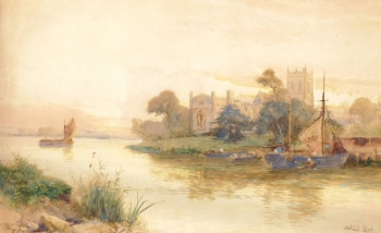 Christchurch Priory, Dorset, Walter Stuart Lloyd