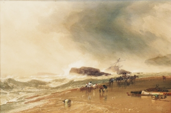 Collecting Wreckage, William Roxby Beverley