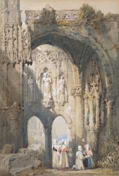 Ruins In Normandy, Samuel Prout