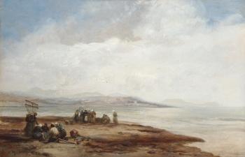 Figures on a Shoreline, James Webb