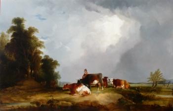 Herder & Cattle, William Joseph Shayer