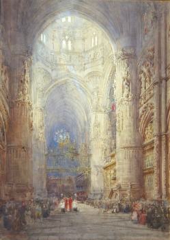 Burgos Cathedral, Spain, Henry Charles Brewer