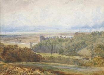 Arundel Castle, William Callow