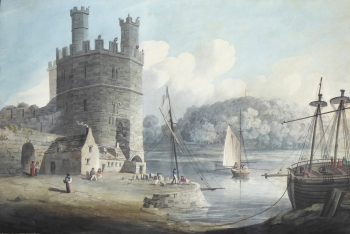 Eagle Tower, Caernarvon Castle, Miss Reynolds
