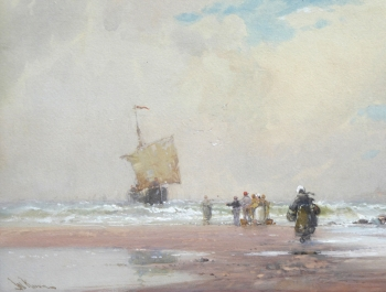 Awaiting the Boats, Wilfred Knox