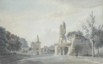 The Old Castle, Sherborne, Dorset, Thomas Rackett