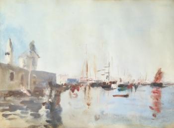 Venice, Italy, Hercules Brabazon Brabazon