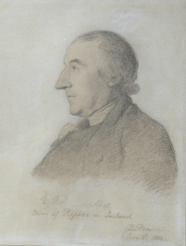 Portrait of The Revd' Allot, Dean of Raphoe, Ireland, George Dance yr