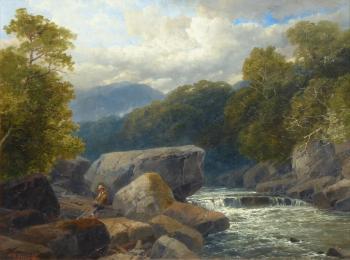 On the Dart, Devon, James Burrell Smith