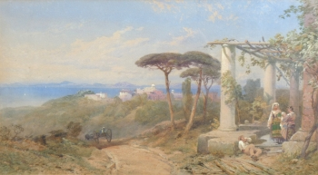 Island of Capri, Thomas Miles Richardson jnr