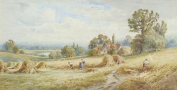 View near Bury, Suffolk, Henry John Kinnaird