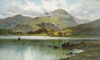 St Sunday Crag, The Lakes, Alfred Fontville De Breanski
