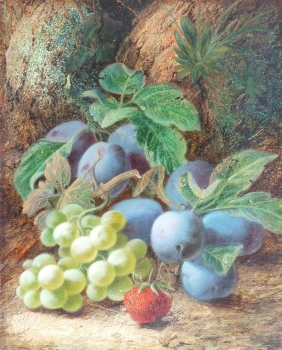 Grapes & Plums, Oliver Clare