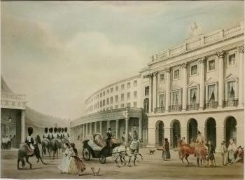 Antique Prints Thomas Shotter Boys Quadrant Regent Street